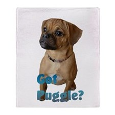 Got Puggle? Throw Blanket