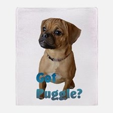 Got Puggle? Throw Blanket