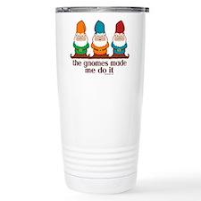 The Gnomes Made Me Do It Ceramic Travel Mug