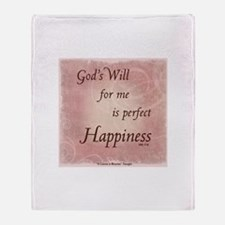 ACIM-God's Will for Me Throw Blanket