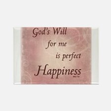 ACIM-God's Will for Me Rectangle Magnet