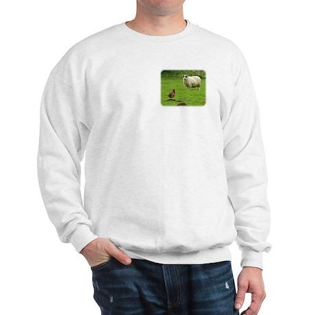 Sheep and Pheasant 9R039D-07 Sweatshirt