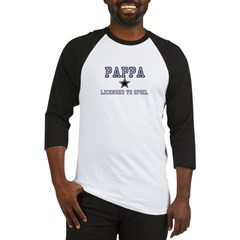 Pappa - Blue - Licensed to Sp Baseball Jersey