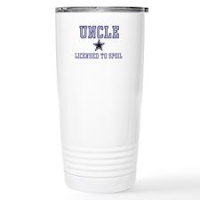 Uncle - Blue - Licensed to Sp Travel Mug