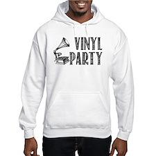 Vinyl Party Jumper Hoody