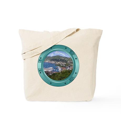 St Thomas Porthole Tote Bag