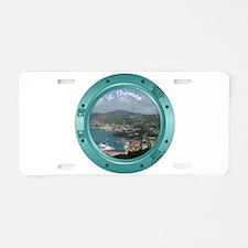 St Thomas Porthole Aluminum License Plate