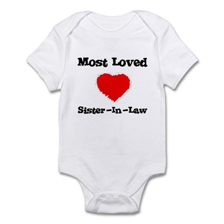 Most Loved Sister-in-law Infant Creeper