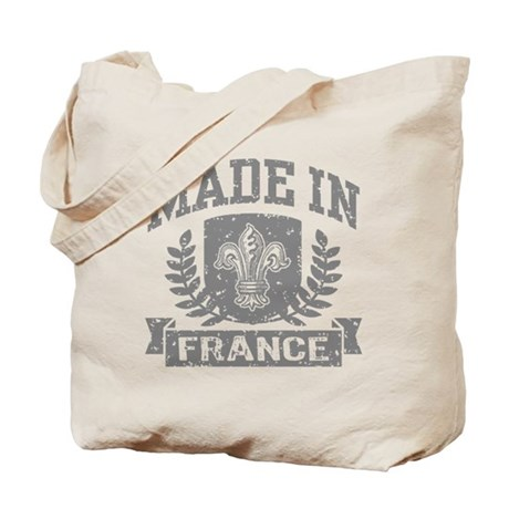 Made In France Tote Bag