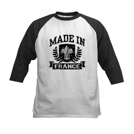 Made In France Kids Baseball Jersey