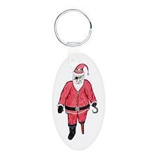 Pirate Santa Keychains