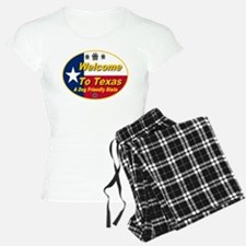 Welcome To Texas A Dog Friendly State Pajamas