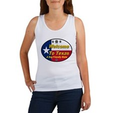 Welcome To Texas A Dog Friendly State Women's Tank