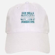 She Sells Seashells Baseball Baseball Cap