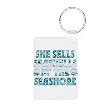 She Sells Seashells Keychains