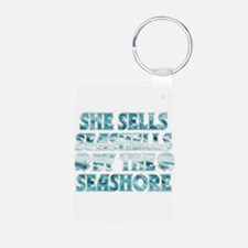 She Sells Seashells Keychains