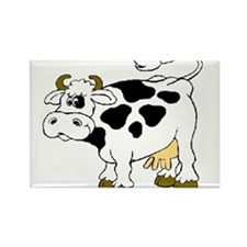 cow Rectangle Magnet