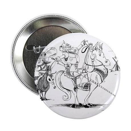 """Don Quixote 2.25"""" Button"""