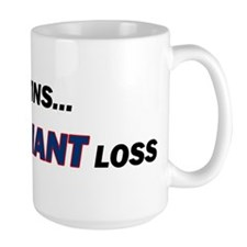 one GIANT loss Mug