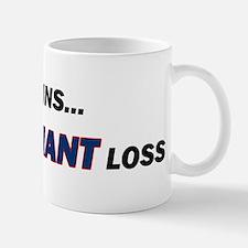 one GIANT loss Mug