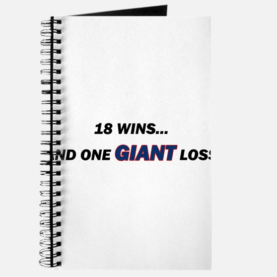one GIANT loss Journal
