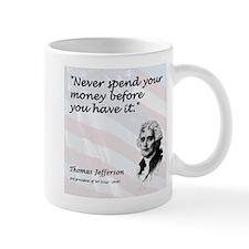 Jefferson on...Spending Mug
