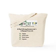 Cute Grocery list Tote Bag