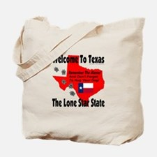 Welcome To Texas A Dog Friendly State Tote Bag