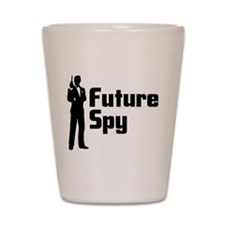 Future Spy Shot Glass