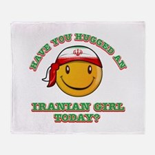 Have you hugged an Iranian today? Throw Blanket