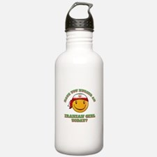 Have you hugged an Iranian today? Water Bottle