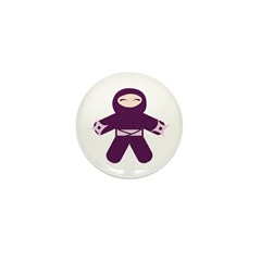 Throwing Star Ninja! Mini Button (100 pack)
