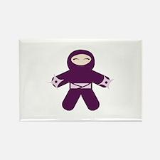 Throwing Star Ninja! Rectangle Magnet