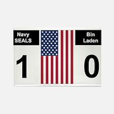 Navy Seals and Bin Laden Rectangle Magnet