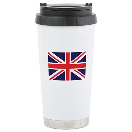 Union Jack Stainless Steel Travel Mug