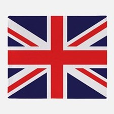 Union Jack Throw Blanket