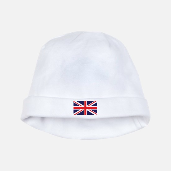 Union Jack baby hat