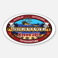 Keowa 2011 Sticker (Oval)