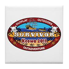 Keowa 2011 Tile Coaster