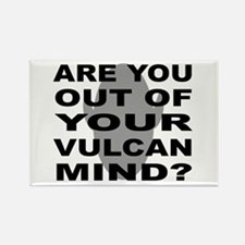 Are you out of your Vulcan mi Rectangle Magnet