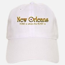 My heart is in New Orleans Baseball Baseball Cap