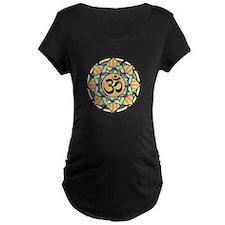 Rainbow Lotus Aum T-Shirt