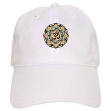 Rainbow Lotus Aum Baseball Cap