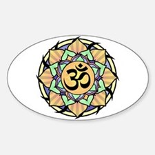 Rainbow Lotus Aum Decal