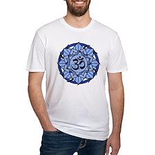 Aum Lotus Mandala (Blue) Shirt