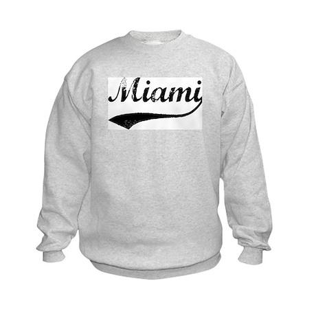 Vintage Miami Kids Sweatshirt