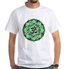 Aum Lotus Mandala (Green) Shirt