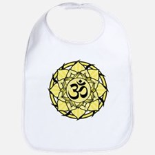 Aum Lotus Mandala (Yellow) Bib
