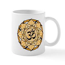 Aum Lotus Mandala (Orange) Mug