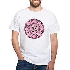Aum Lotus Mandala (Pink) Shirt